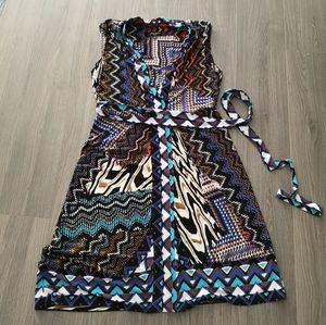 Nine West - Casual Dress / Wrap top/ sz. 6